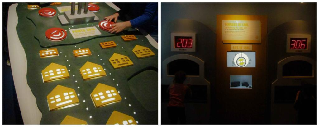 Interactive displays allow visitors to be hands-on with educational opportunities.
