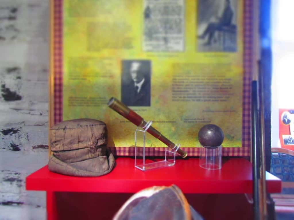 Artifacts form John Brown's time in Kansas are on display at the John brown Museum in Osawatomie, Kansas.