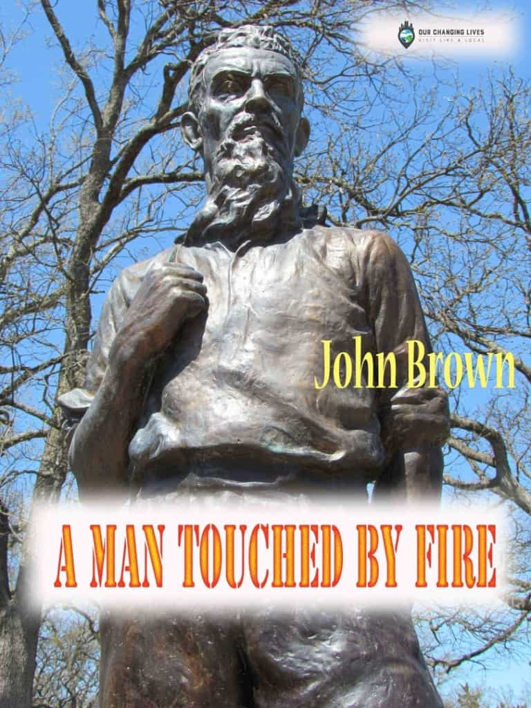 John Brown-Osawatomie Kansas-abolitionist-free state-Bleeding Kansas-Harpers Ferry-Civil War-vigilante-battles