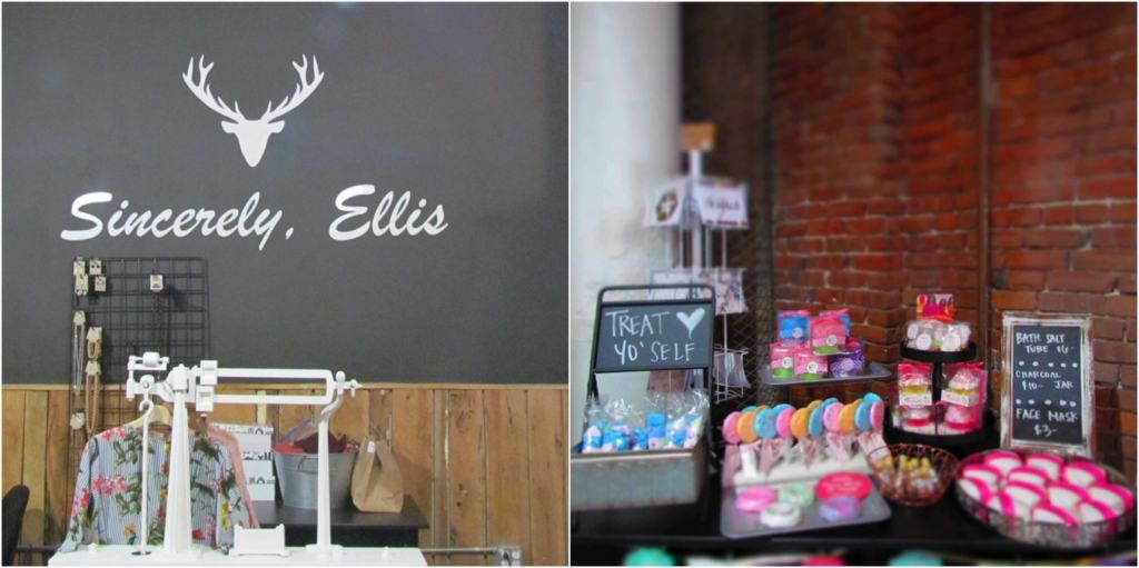 Sincerely, Ellis is a boutique shop in the West Bottoms of Kansas City, Missouri.