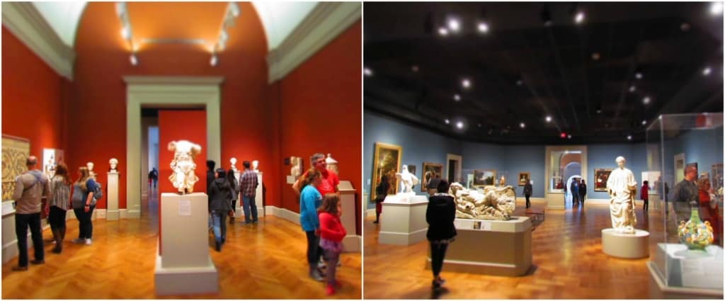 Being a free attraction means that the crowds can enjoy the museum at their leisure.