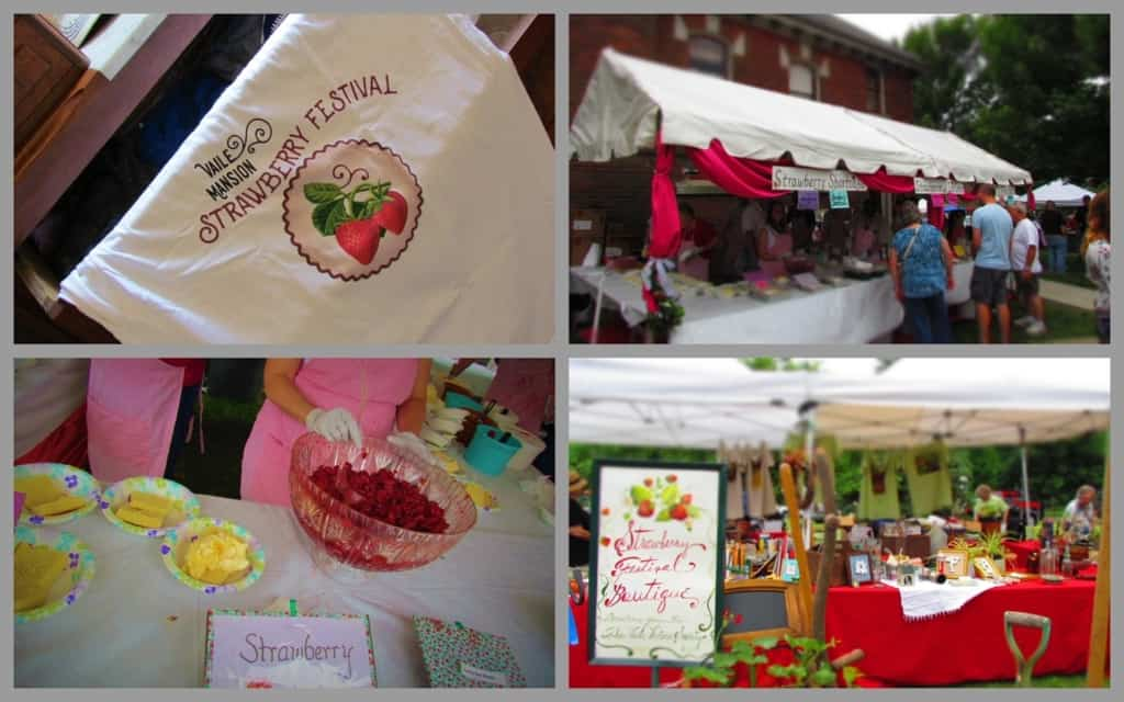 The annual Strawberry Festival is one of the fundraisers for the Vaile Society.