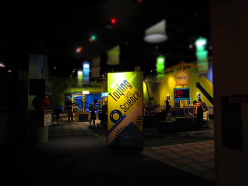 Toying with Science is one of the most popular exhibit rooms at the Science Center of Iowa.
