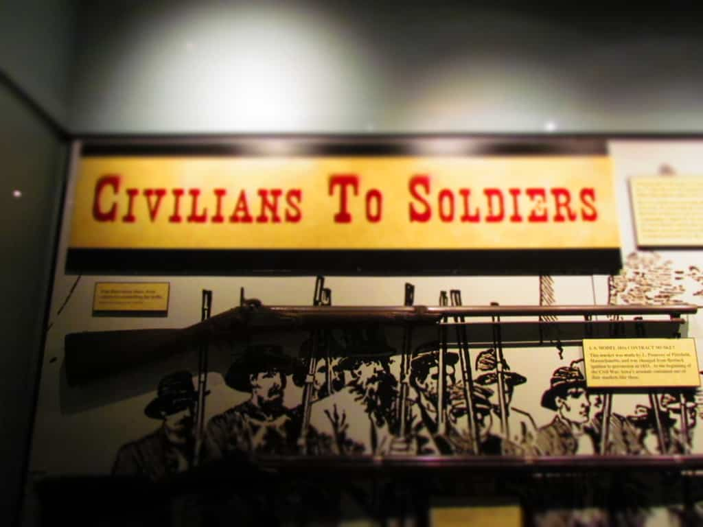 The Civil War required a huge number of Iowa civilians to become soldiers.