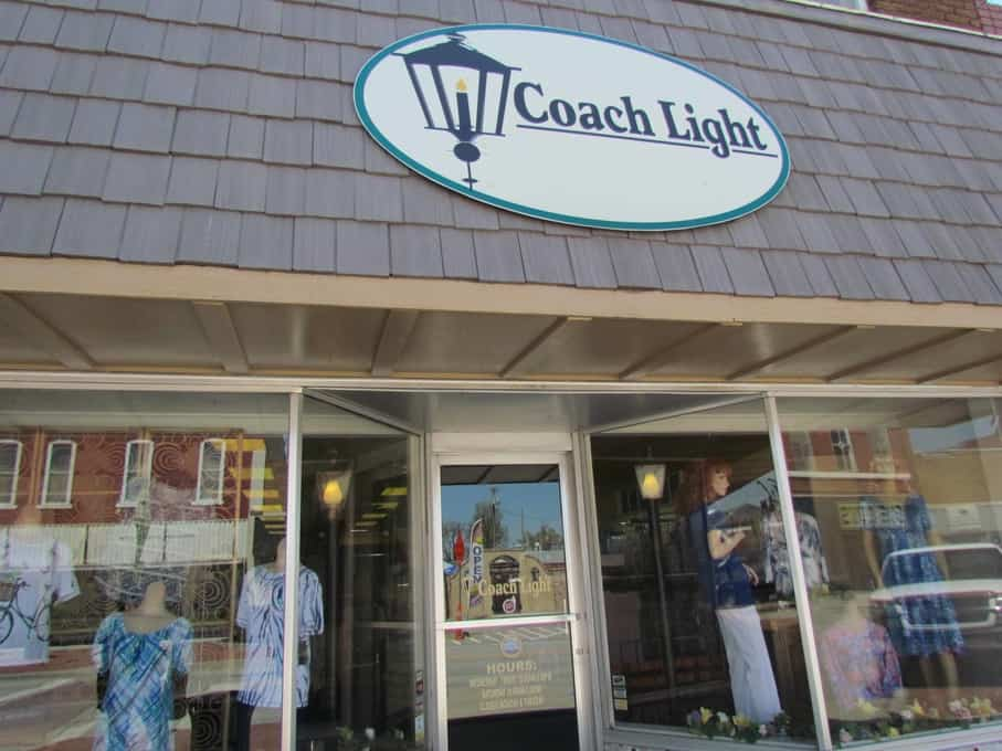 Coach Light is a women's apparel boutique in Osawatomie, Kansas.