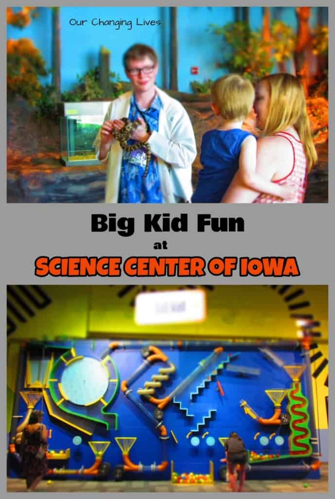 Science center of Iowa-Des Moines-science-nature-space-Imax theater-play-family friendly