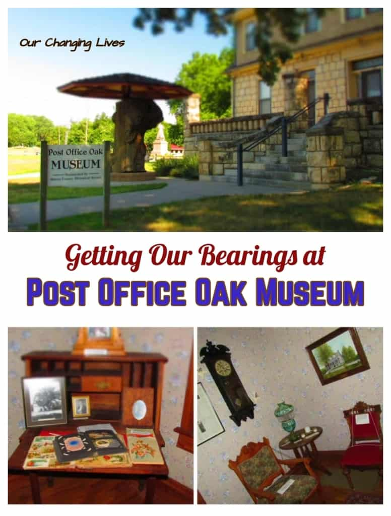 Council Grove-Kansas-Post Office Oak Museum-Santa Fe Trail-pioneers-wagon trains