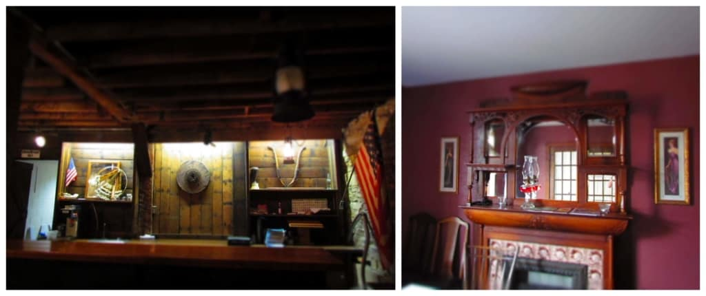 The interior of the Hays House holds many relics from the past.