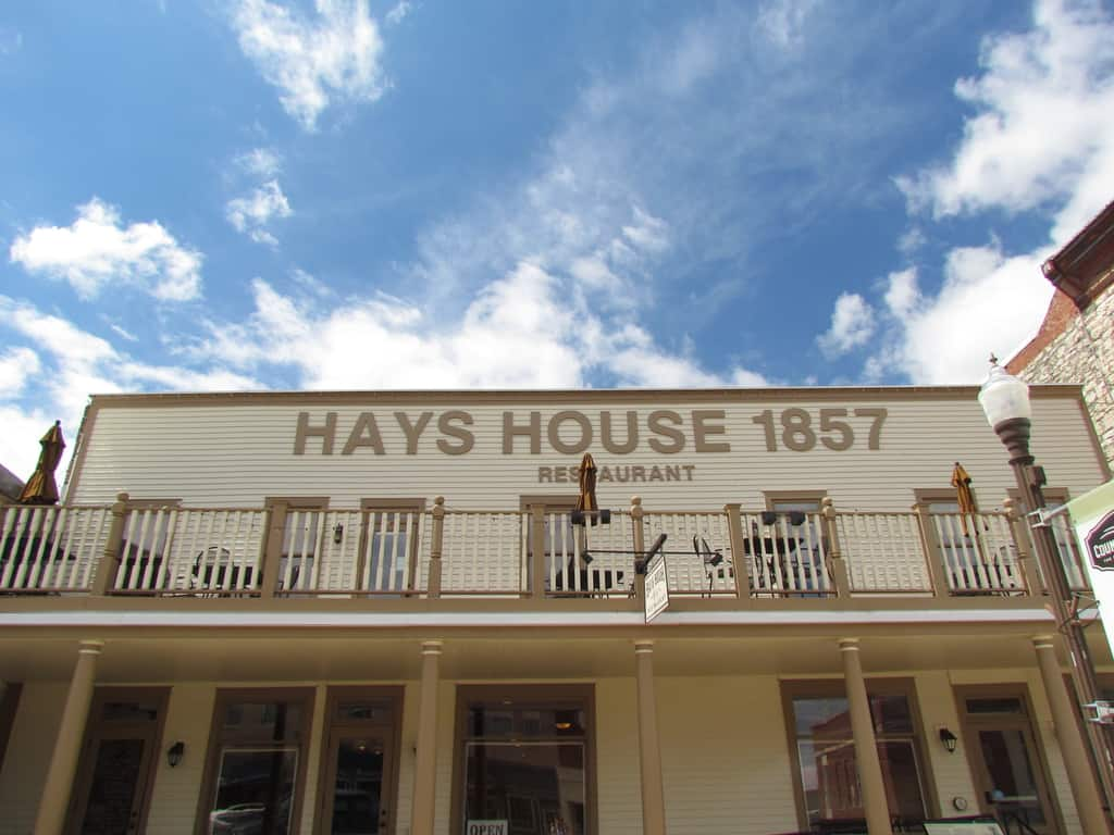 The Hays House has been serving customers in Council Grove, Kansas since 1857.