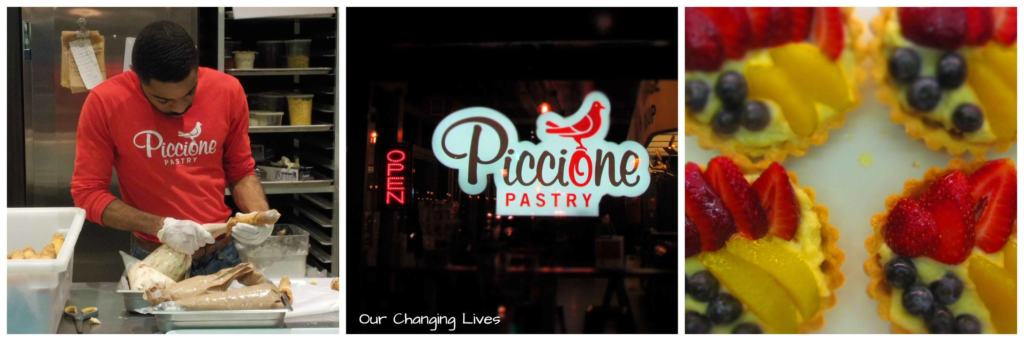 Piccione Pastry is a DelMar Loop pastry shop that offers up some delightful treats.