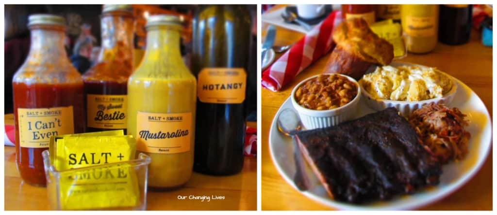 Salt and Smoke gave us the chance to sample some St. Louis barbecue.