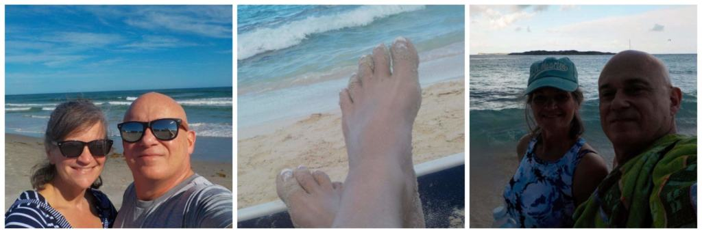 Sometimes you just have to get away to the beach and feel the sand between your toes.