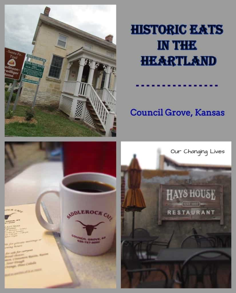 Council Grove-Kansas-restaurants-Trail Days Cafe-Hays House-Saddlerock Cafe-dining-history