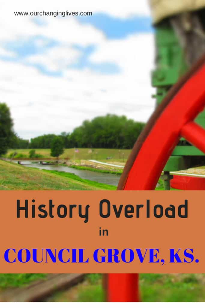 Council Grove-Kansas-history-Seth Hays-Santa fe Trail-Kanza Indians