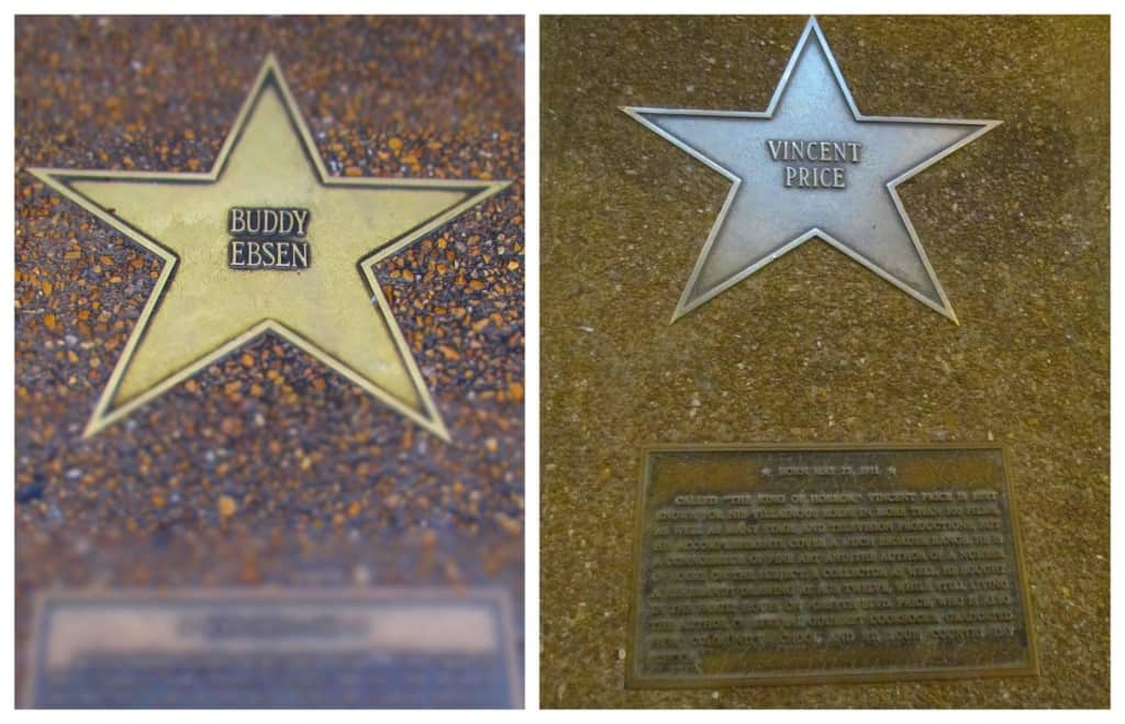 the Delmar Loop is home to the St. Louis Walk of Fame.