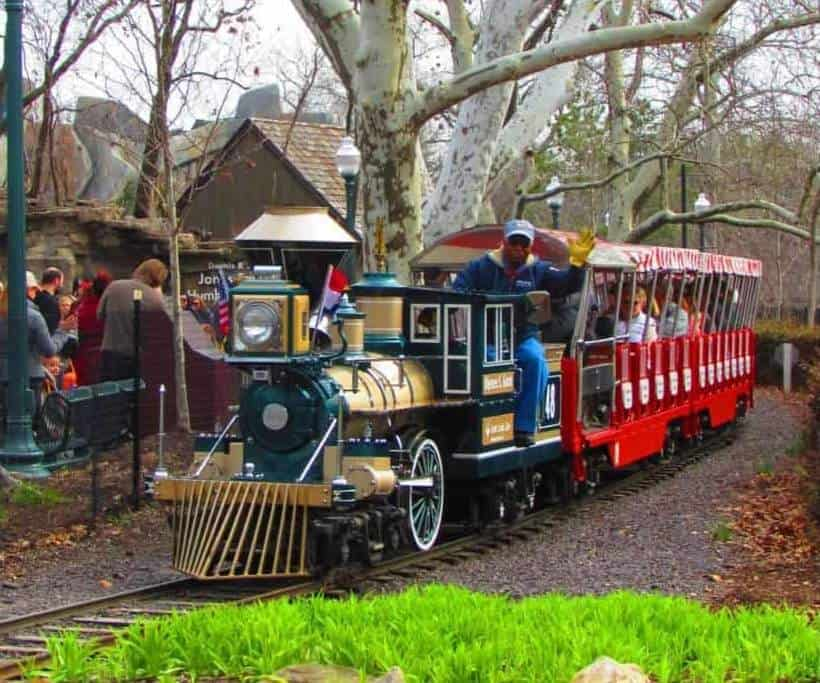 Everyone enjoys a ride on the zoo train.