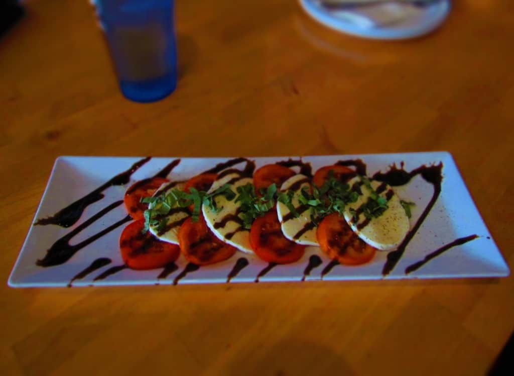 Fresh Mozzarella and tomatoes are the base for a delicious Caprese Salad.
