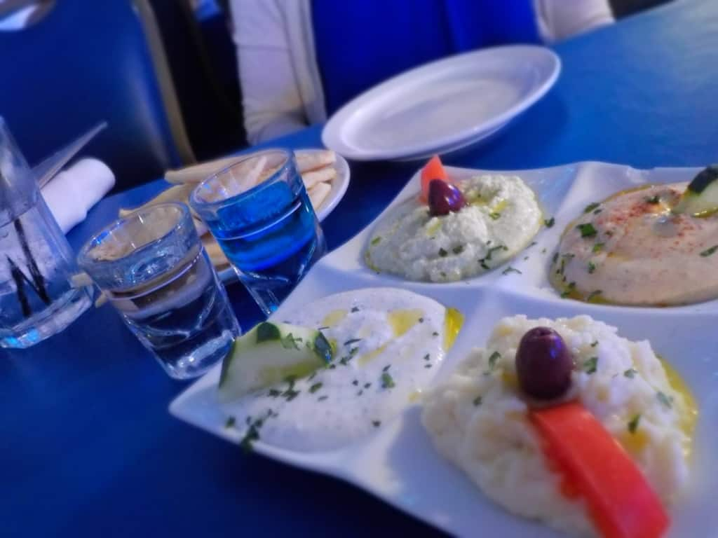 The Taste of Greek is filled with a variety of dips.