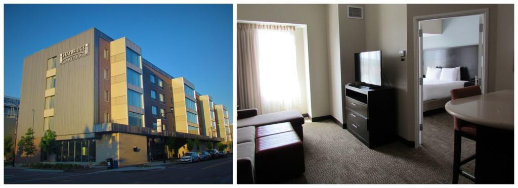 Our stay at the Staybridge Suites was the perfect spot for a home base to explore downtown Des Moines.