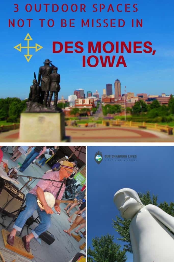 Des Moines, Iowa-Capitol Building-Farmers Market-downtown-Pappajohn Sculpture Garden-Western Gateway Park-art-artists-Asian-villages-cuisine-cultural event