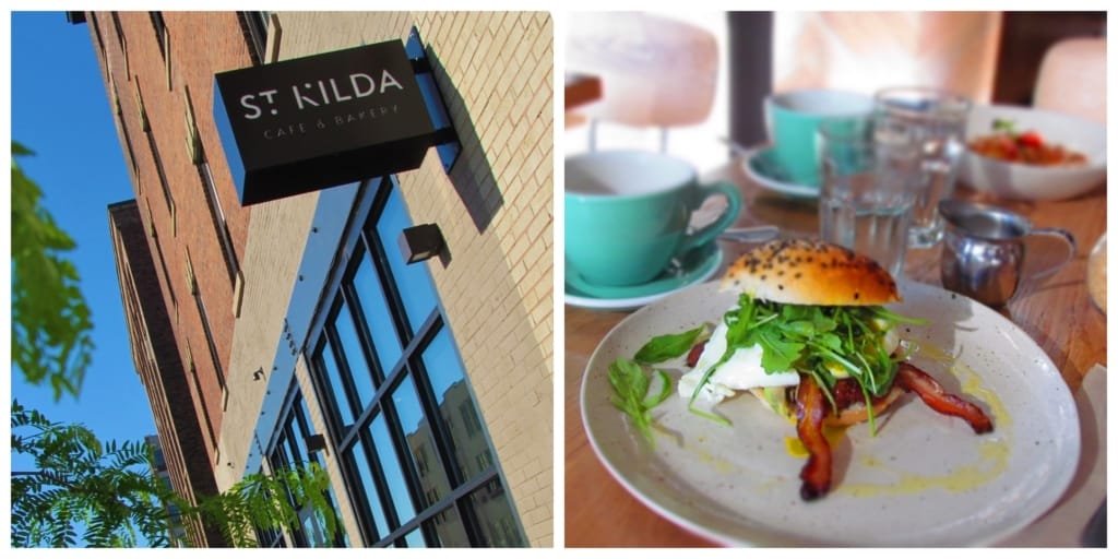 The Australian style eats of St, Kilda offers plenty of protein based dishes to fuel a busy day of exploring.