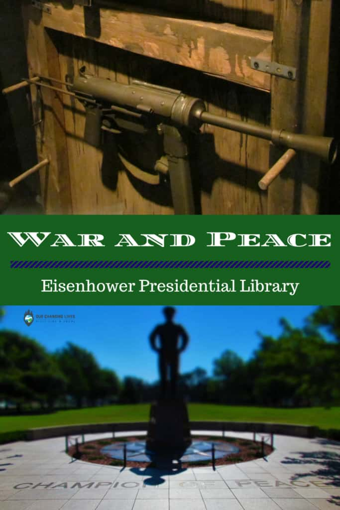 War and Peace-Eisenhower Presidential Library-museum-World War I-World War II
