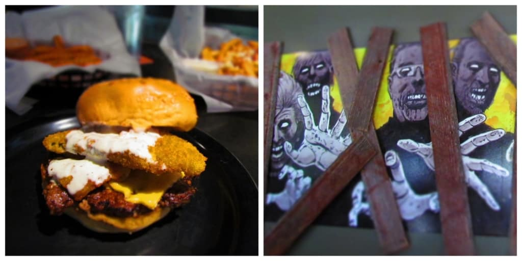 Zombie Burger is a frighteningly good burger joint with some unique flavor combinations.