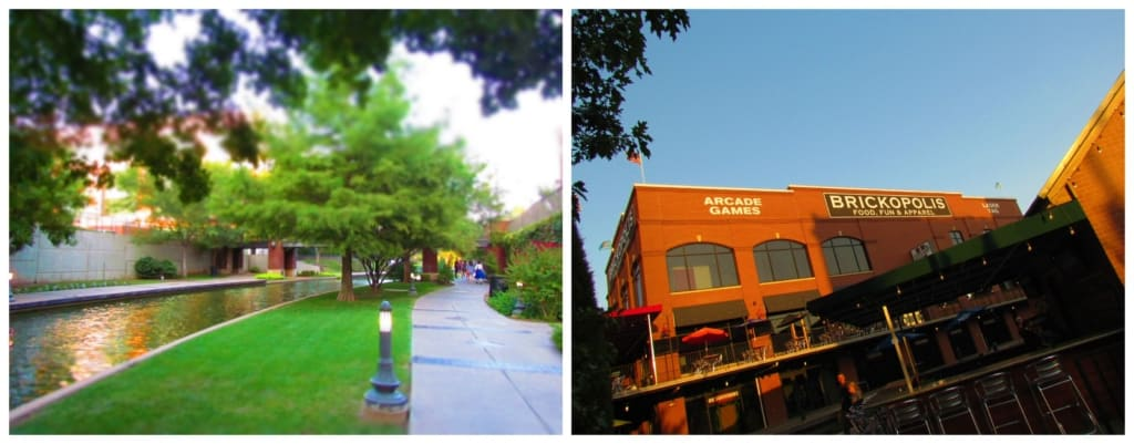 A stroll along the Bricktown canal leads past plenty of entertainment options.