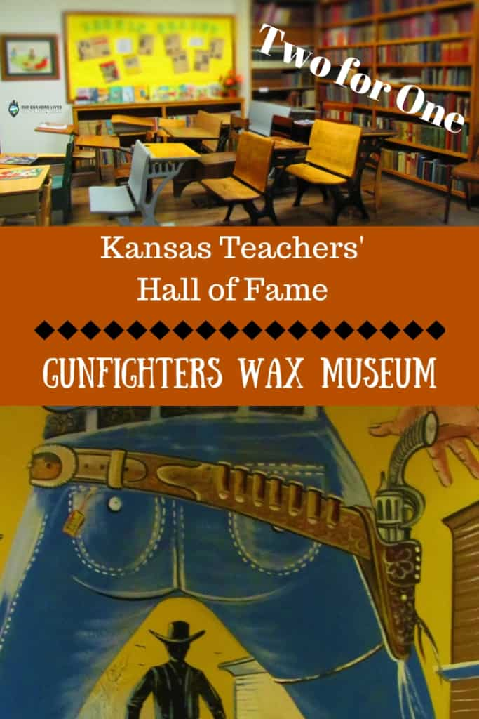 Kansas Teachers' Hall of Fame-Gunfighters Wax Museum-Dodge City-museums-history