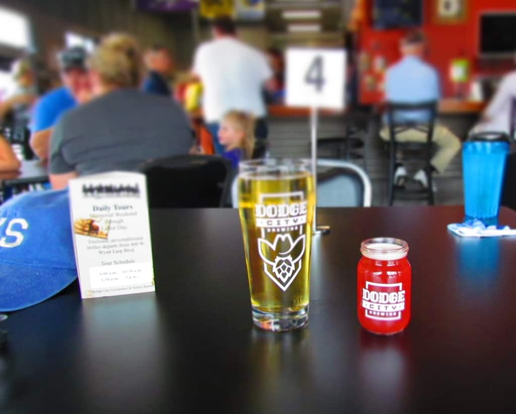 Dodge City Brewing Company is a good spot to sip some locally crafted suds.