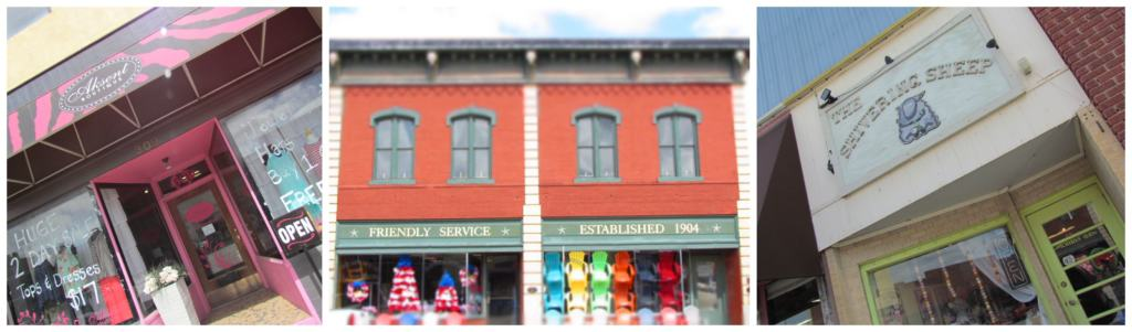 The shops in downtown Abilene make a great diversion for some retail therapy.