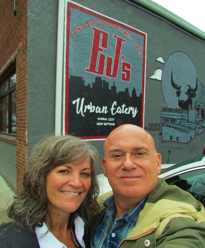 The authors enjoyed their visit to EJ's Urban Eatery in the West Bottoms district of Kansas City.