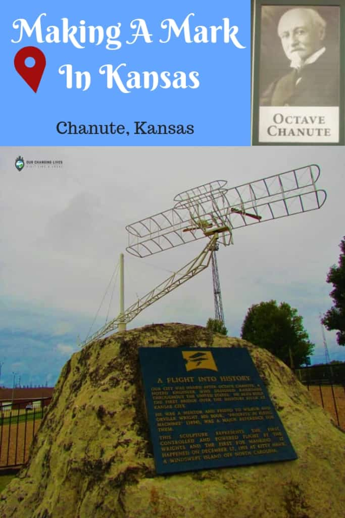 Chanute, Kansas-Octave Chanute-flying-Wright Brothers-Aircraft-bi wing plane