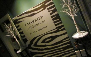 I Married Adventure was a reknown book by Osa Johnson.
