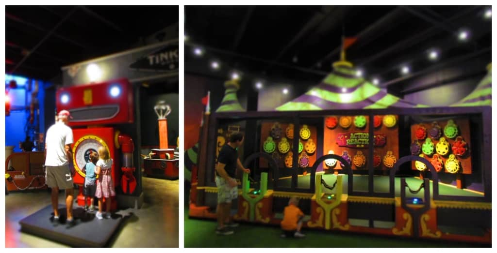 Some of the exhibits are almost like visiting a carnival.