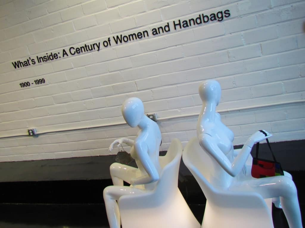 The Esse Purse Museum is one of only three in the world and the only one in the United States.