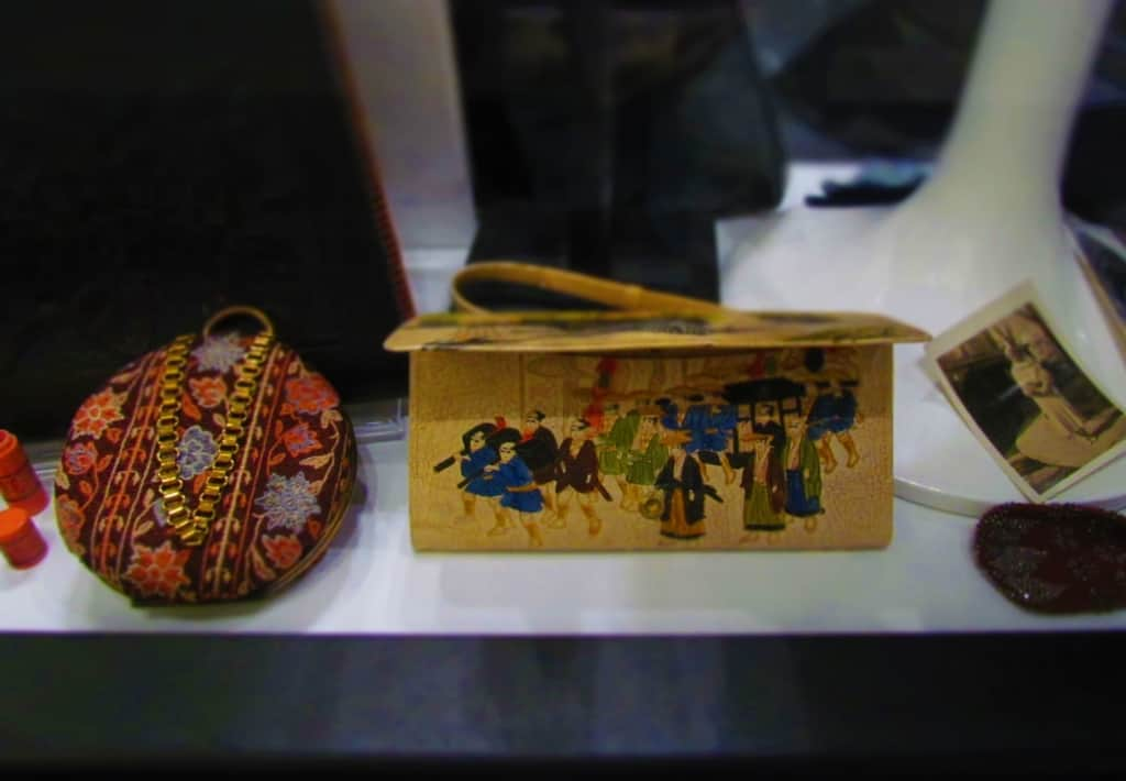 A wide variety of purses, handbags, and clutches can be found in this unique museum.