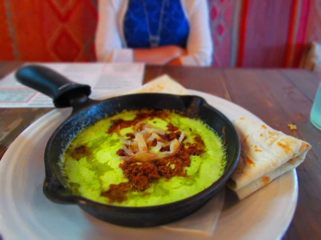 The Queso Fundido at Iguana Mexican Grill is a delicious appetizer.