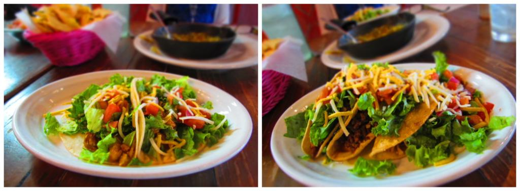 Happy Hour at Iguana Mexican Grill is a chance to sample some of their tacos.