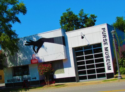 The Exterior of the Esse Purse Museum in Little Rock, Arkansas.