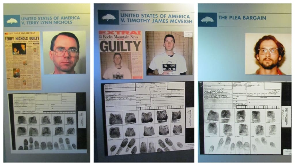 The three suspects were rounded up and two were tried and found guilty..