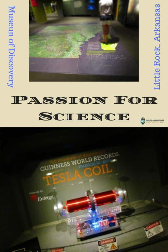 Museum of Discovery-Tesla Coil-science center-Little Rock, Arkansas-experiments-STEAM-STEM-physics-hands on-family fun-all ages
