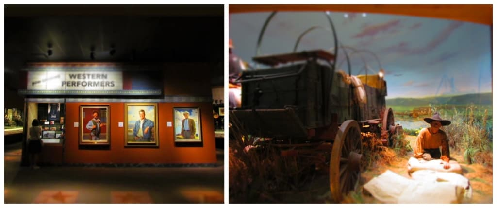 The National Cowboy and Western Heritage Museum tells the story of the American cowboy.