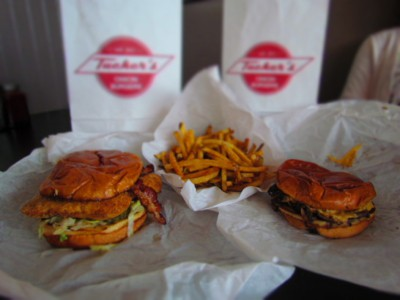 A delicious meal can be enjoyed at Tucker's Onion Burgers in Oklahoma City.