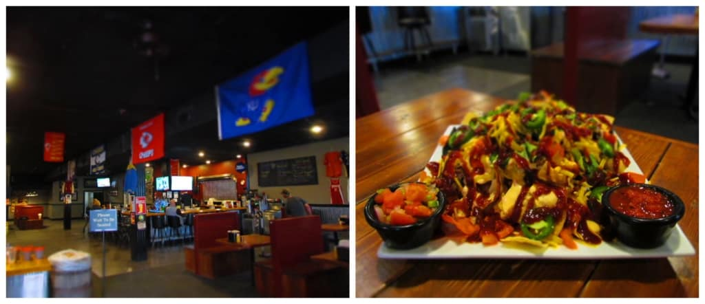 Playmakers Sports Bar and Grill offers interesting dishes in a fun environment.