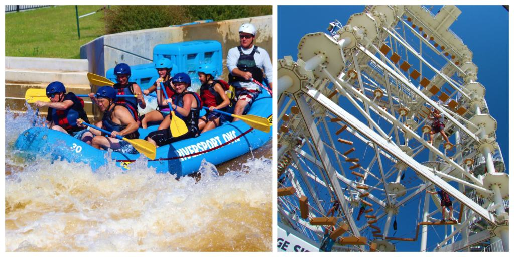 Riversport OKC challenges visitors with plenty of adrenaline pumping experiences.