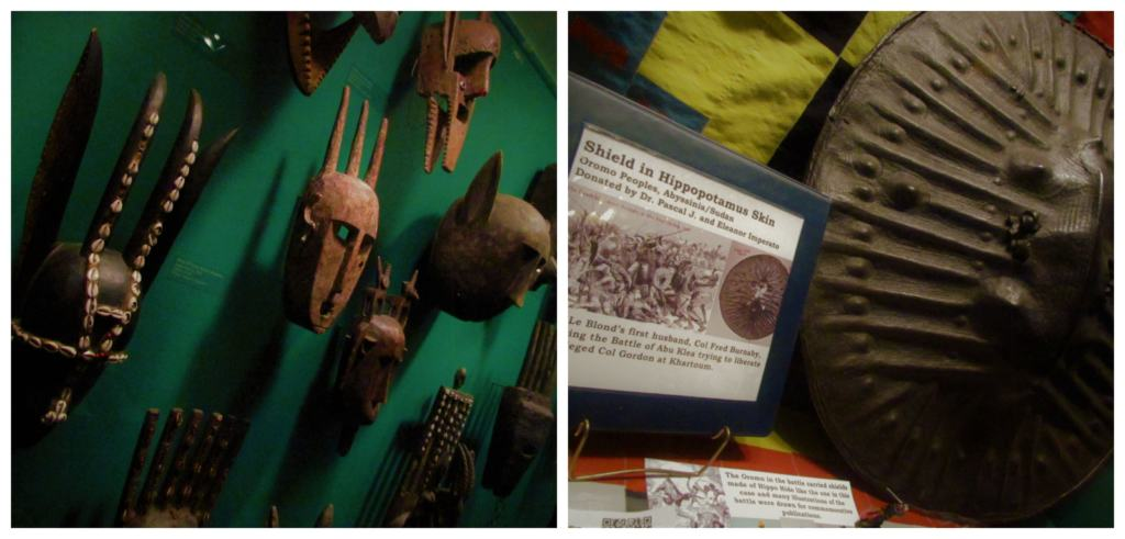 The Martin and Osa Johnson Safari Museum offers a peek into the lives of two early explorers.