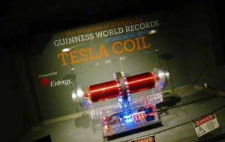 The World's Largest Musical Tesla Coil can be found at the Museum of Discovery in Little Rock, Arkansas.