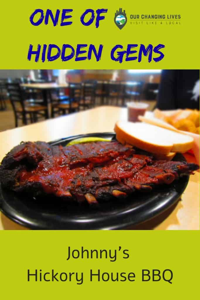 Johnny's Hickory House BBQ-Mission, Kansas-barbecue-ribs-onion rings-Diners, Drive ins, and Dives- Guy Fieri