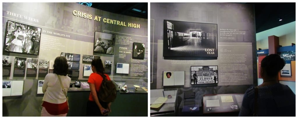 The Central High School Historic Site tells the story of desegregation in Little Rock, Arkansas.
